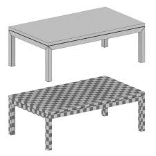 parsons rectangular coffee table crate