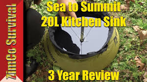 Sea To Summit Kitchen Sink 3 Year Review Youtube