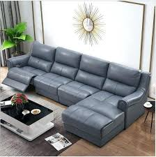 leather couch reclining living room sofa set l corner sofa recliner electrical couch genuine leather sectional