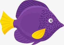 purple fish clip art. Wonderful Clip Cartoon Purple Fish Material Cartoon Vector Fish Clipart PNG  And Vector Inside Purple Clip Art T