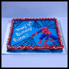 Spider Man Sheet Cake Spidermannnm Levis Turning 3 In 2019