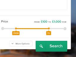 form slider price slider form by jason mayo dribbble