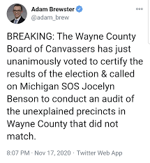 Wayne County Board of Canvassers is ...