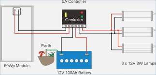 wiring diagrams for caravan solar system bioart me RV Solar Wiring-Diagram solar lighting system example caravan solar wiring diagram