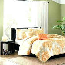 bright orange comforter sets yellow and gray bedding sets gray bedding set bright orange comforter sets orange and gray bedding