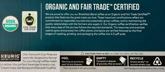 Green mountain coffee decaf french vanilla coffee. Kirkland Breakfast Blend Single Cup Coffee For Keurig K Cup Brewers 50 Count Amazon Com Grocery Gourmet Food