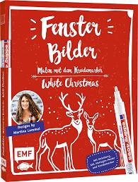 Fensterbilder Malen Mit Dem Kreidemarker White Christmas