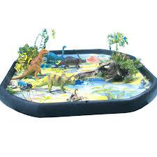 active world tuff tray dinosaur mat