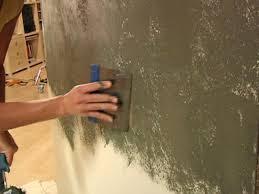 step 2 level the plaster