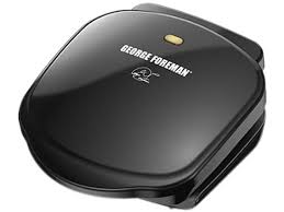 gee foreman basic plate grill and panini black gr10b newegg