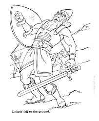 David And Goliath Coloring Page Pdf Pages Book Coloring Creator