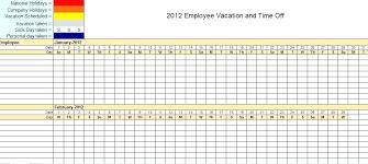 Holiday Calendar Template Interesting Vacation Schedule Template Excel Holiday Calendar Excel Template