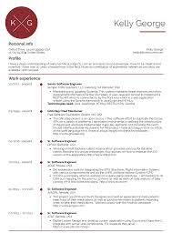 Resume 11 Software Engineer Resume Image Software Test Engineer