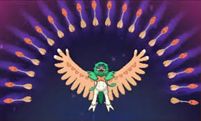 Image result for pokemon sun and moon decidueye z-move