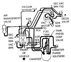 85 Dodge 4 Wheel Drive Vacuum Diagram