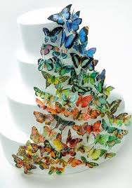Brilliant Butterfly Wedding Cake How To Make A Wedding Cake With