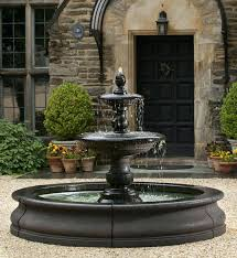 large water fountains for gardens bas soothg large outdoor wall water fountains