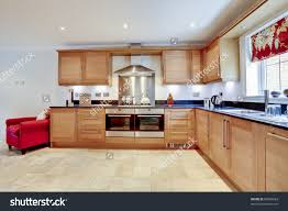 Granite Worktop Kitchen Luxury Modern Fitted Kitchen With Built In Appliances And Granite