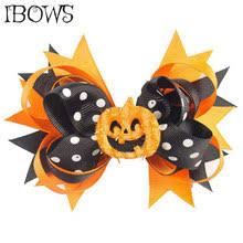 <b>Halloween</b> Hair Clip Pumpkin