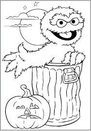 Free Printable Sesame Street Coloring Pages Printable Sesame Street