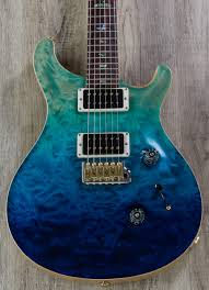 Prs Paul Reed Smith Msl Wood Library Custom 24 Guitar Blue