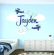 monogrammed wall decals wall ideas monogrammed wall decor personalized wrought iron wall custom airplane name wall