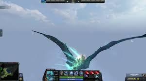 flying outside the dota 2 demo world youtube