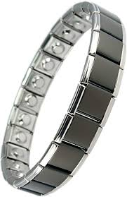 MPS® <b>Magnetic</b> Bracelet without Clasp Expander <b>Stainless Steel</b> ...