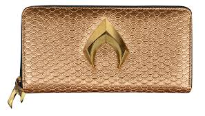 Justice League (2017) | Aquaman Logo Clutch Wallet by Ikon ...