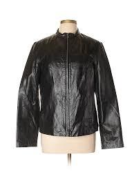 pin it faded glory women leather jacket size l