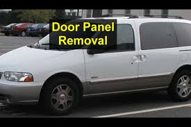 door panel removal door or window repairs mercury villager nissan quest votd you