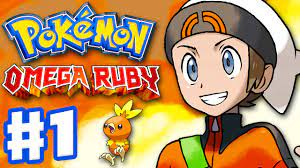 Pokemon Omega Ruby and Alpha Sapphire - Gameplay Walkthrough Part 1 - Intro  and Starter Evolutions - YouTube