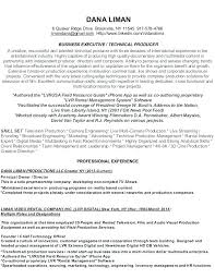 Film Production Assistant Resume Production Assistant Resume Sample