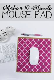 learn how to make a custom diy mouse pad in 10 minutes with cork a