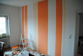 Wand Streichen Muster Streifen Gemtlich On Moderne Deko Ideen Auch