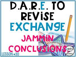 Graphic Design Essay Conclusion Writing Mini Lesson 30 Jammin Conclusion Of A Narrative
