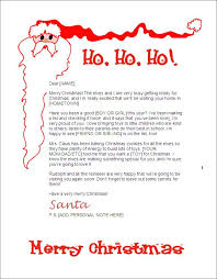 Funny Letter To Santa Template Updrill Co