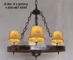 rustic wagon wheel chandelier light