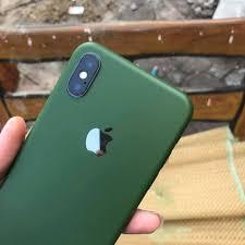 Dán Skin cho iPhone 11 Pro max màu xanh rêu, giá tốt nhất 55,000đ! Mua  nhanh tay!