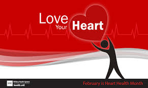 Image result for heart healthy february images