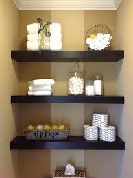 Floating Shelve Ideas Interesting White Wood Floating Shelves Bathroom Amusing Bathroom Best Corner