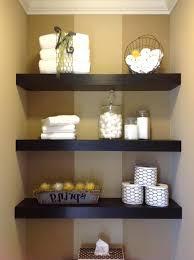 Floating Shelve Ideas Interesting White Wood Floating Shelves Bathroom Amusing Bathroom Best Corner
