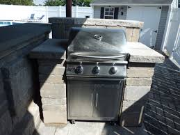 Cinder Block Outdoor Kitchen Built In Outdoor Kitchens In Connecticut