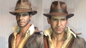 Hot Toys Indiana Jones Head Swap Part 1 - YouTube