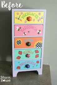 office decor stores. Industrial Dresser Makeover Office Supply Organizer From An Old  Jewelry Box House Home Interior Decor Stores