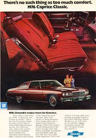 1976 Chevrolet Caprice Landau Coupe ad | CLASSIC CARS TODAY ONLINE