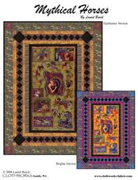 Horse Quilt Pattern Best FREE QUILT PATTERN TO DOWNLOAD Mythical Horses Quilt Pattern Free