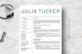 Creative 2 Pages Resume Template Resume Templates Creative Market