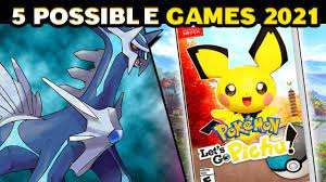 Top 5 POSSIBLE New Pokemon Games in 2021 - YouTube