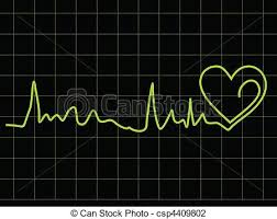 Heart Beat Chart Abstract Heart Beat Chart